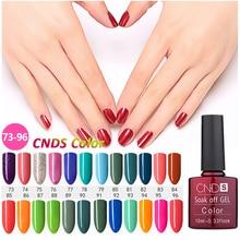 CNDS Gel Varnishes Coating UV Nail Polish Long-lasting Soak-off LED UV Gel 156 Color 10ML Nail Art Nail Gel Polish Lacquer