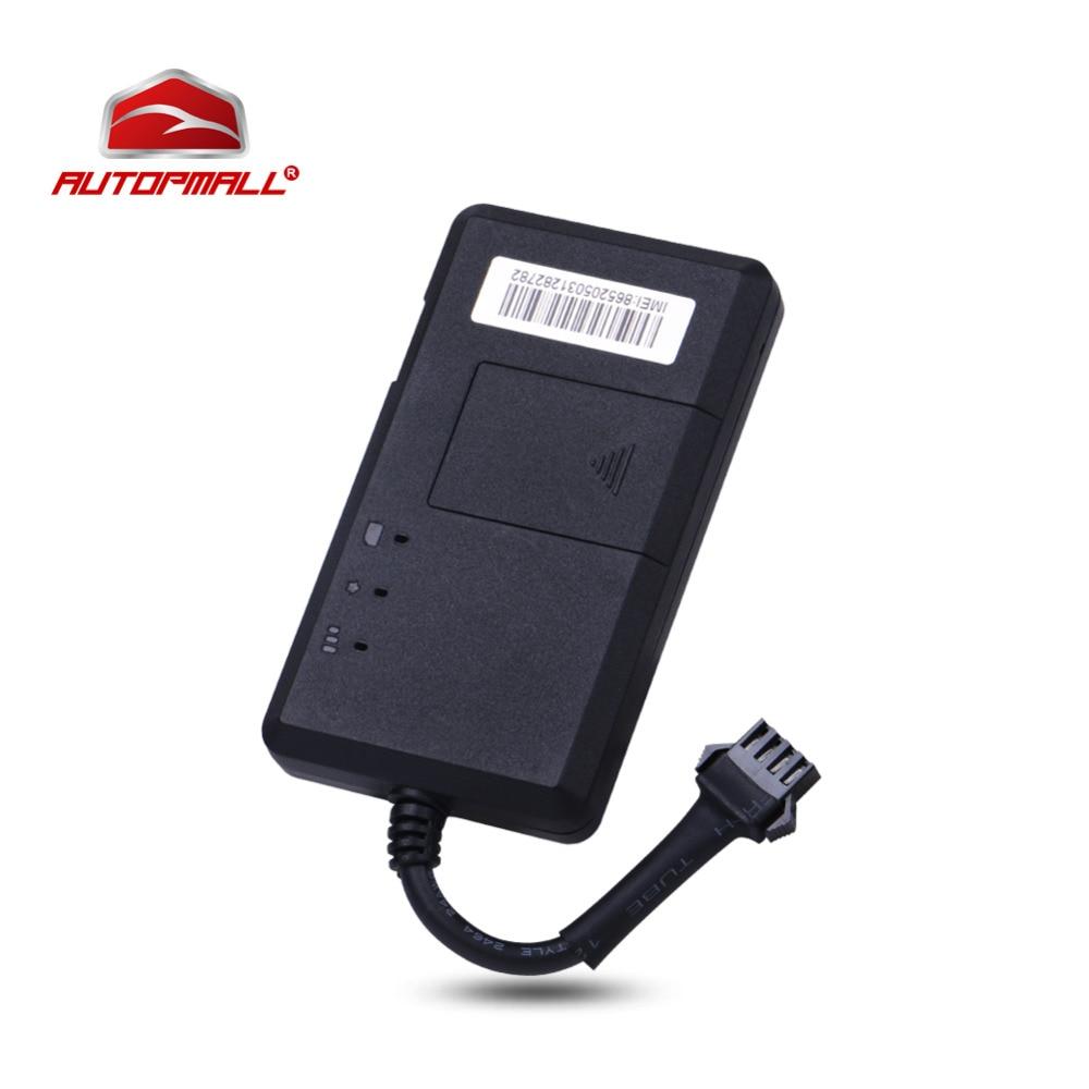 Мини Автомобильные GPS-навигаторы трекер tk06a автомобиля GPS локатор SMS GPRS в реальном времени позиционирования более Скорость речевого оповещения Мониторы устройства слежения
