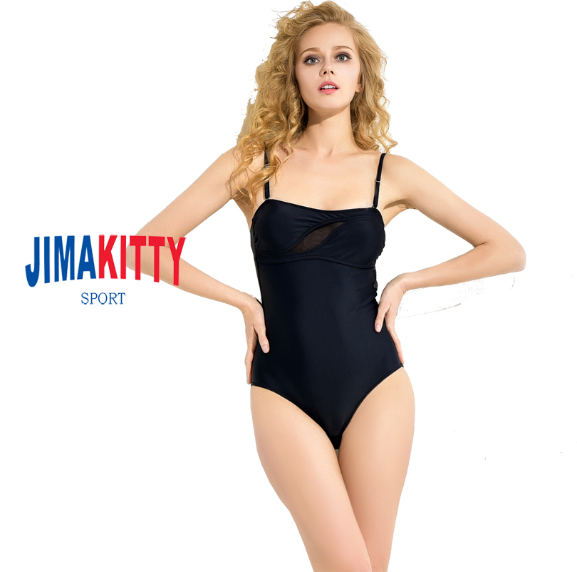 2018 New Exclusive Square Neck High Leg Women One piece Black Low back Sexy ladies Swimsuit EG7054 tt tf ths 02b hybrid style black ver convoy asia exclusive