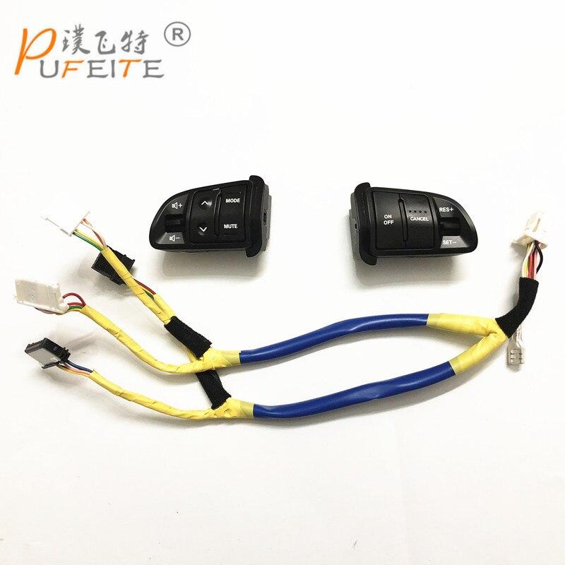 Freies verschiffen multifunktions Lenkrad Audio Tempomat Tasten Für Kia sportage SL mit hintergrundbeleuchtung Auto ladung
