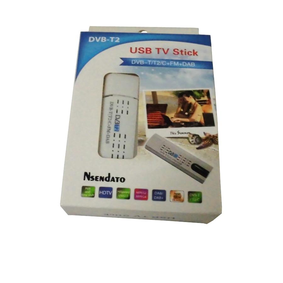 Digital TV DVB T2 USB Stick Tuner me antenë Remote Control USB2.0 - Audio dhe video në shtëpi - Foto 6