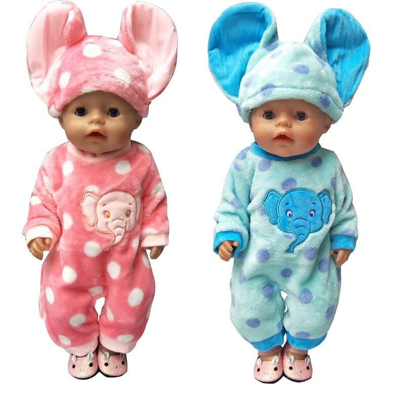 43 cm Zapf Bayi lahir pakaian boneka kartun set untuk 18 inch gadis - Boneka dan aksesoris - Foto 4