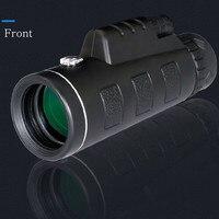 40x60 Hunting Monocular Telescope Zoom Optic Lens Binoculars Spotting scope Coating Lenses Dual Focus Optic Lens