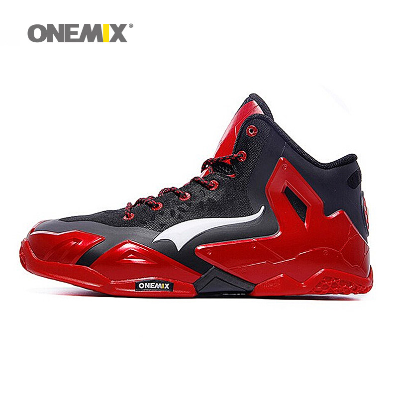 2017 ONEMIX Brand Men's Basketball Top Quality Shoes 7 Color Breathable Anti-collision Technology Sneakers for Men Sports Shoes футболка osiris live fast white red