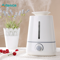 3500ml Ultrasonic Air Humidifier Aroma Diffuser For Home Office Baby Spa Yoga With 3 Mist Vents