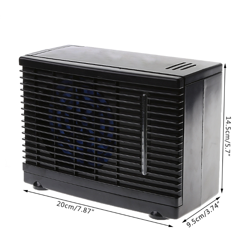 Image 5 - Portable Air Conditioner For Cars 12V Adjustable 60W Car Air Conditioner Cooler Cooling Fan Water Ice Evaporative Cooler-in Heating & Fans from Automobiles & Motorcycles