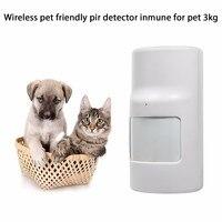 Two Way Wireless Motion Detector PIR Sensor Pet Friendly Pet Immune For G90B G90B Plus GSM