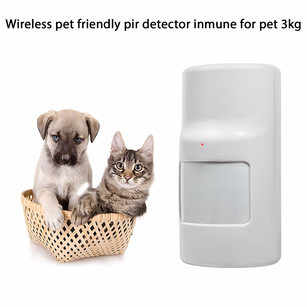 Two-way Wireless Motion Detector PIR Sensor Pet friendly Pet Immune for G90B G90B plus GSM Wifi Alarm System wireless vibration break breakage glass sensor detector 433mhz for alarm system