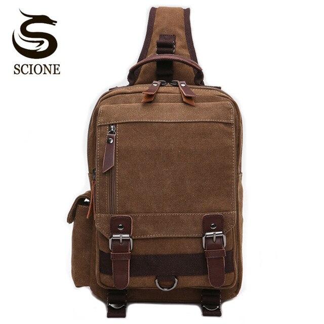 Scione wysokiej jakości męska torba na klatkę piersiową dorywczo torba podróżna Messenger torby Unisex kobieta torba na ramię Crossbody małe bolsas mujer