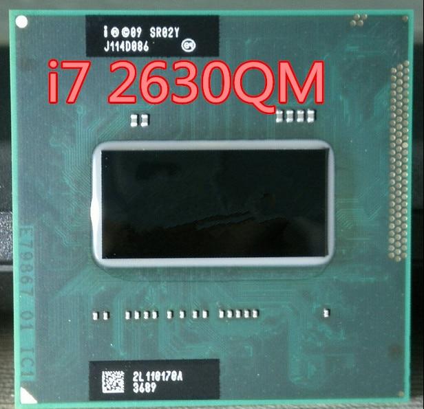 Intel   Official Version Of The Original PGA I7 2630QM I7-2630QM 2.0-2.9G 6M SR02Y CPU FCPGA988 I7 2630QM In Stock 100% Work