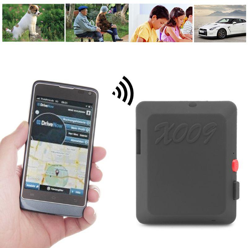 Mini Localizador GSM Com Câmera de Vídeo Do Monitor Rastreador GPS Tracker com Botão SOS Rastreamento Em Tempo Real e Ouvir X009