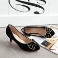 2016 новый sumwer моды классические твердые боути указал носком женщины насосы обуви на высоком каблуке удобные и breathess женская обувь ss32