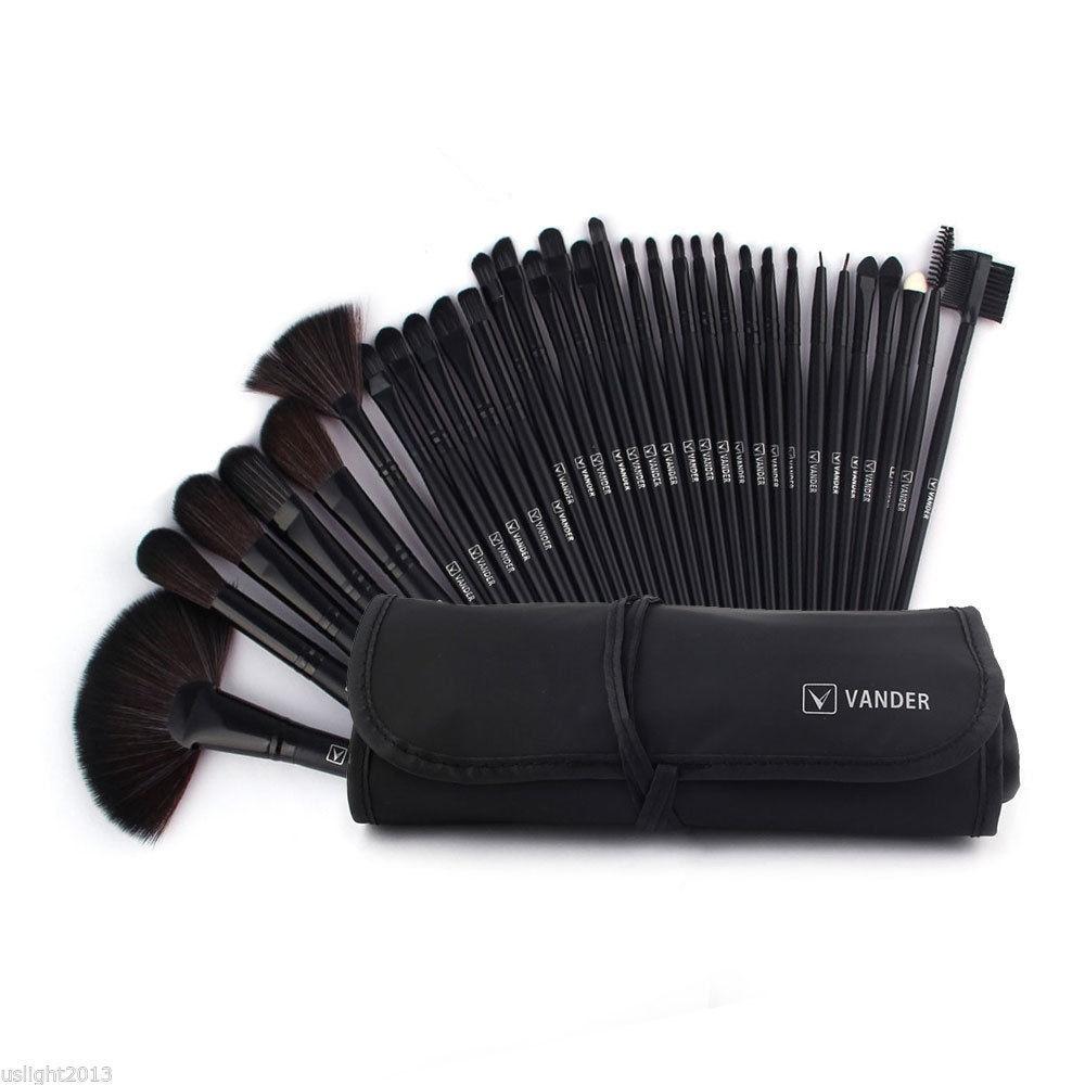 32Pcs Set Professional Makeup Brush Foundation Eye Shadows Lipsticks Powder Make Up Brushes Tools With Bag Pincel Maquiagem paulmann спот paulmann 60223