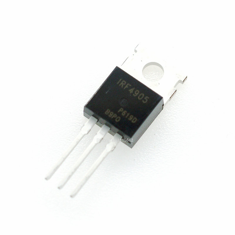 10PCS/LOT IRF4905 IRF4905PBF TO-220 MOS FET P Channel Field Effect 74A 55V 200W New Original Triode Transistor