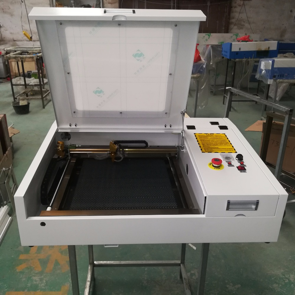 HTB1wLxphH1YBuNjSszeq6yblFXaS - 4040 laser engraving and cutting machine with 50w CO2 laser tube and gold laser head deliver by DHL or TNT or fedex to your door