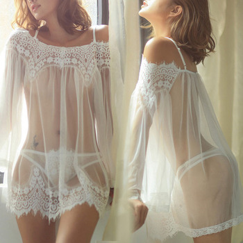 Ladies Lace Dress Babydoll Nightwear