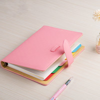 Portable Hand Books A5 Pocket Note Book Business Notebook Notepad Korea Diary Stationery Cute Kawaii Lovely