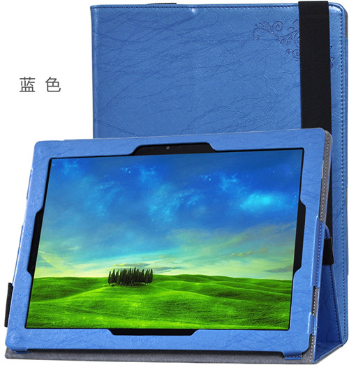 Elegant Floral PU Leather Case Flip Cover For Teclast Tbook 12 Pro 12.2 tablet funda cases Cover Protective shell +gift