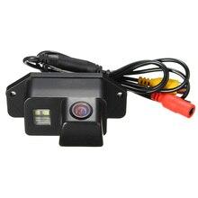 Ccd de visión trasera cámara de reserva fit para mitsubishi/lancer/evolution impermeable auto inversa cámaras de gran angular 170 grado