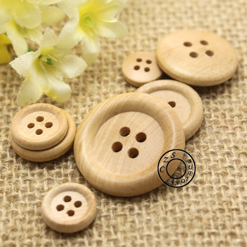 65dee9c696 US $7.19 10% OFF|10 25mm 4Holes Wooden Buttons All Matched T shirt Wood  Sewing Buttons Wholesale Price-in Buttons from Home & Garden on  Aliexpress.com ...