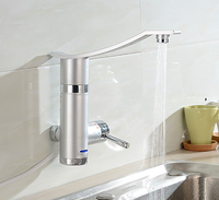 New Instantaneous Instant Tankless Water Heater Fast Heating Electric Kitchen Faucet Water Heater Hot Tap Faucet