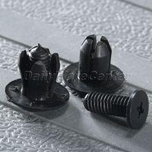 50Pcs Auto Fastener 8.2mm Hole Nylon Bumper Fender Trim Grille Interior/Exterior Clips For KIA 0G032-50037-A Car Styling Rivets