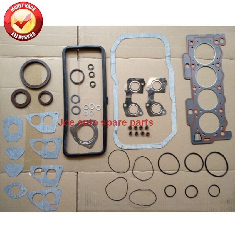 Moteur complet jeu de joints Complet kit pour Peugeot 106 205 306 309 405 207 Partenaire 1.1L 1.4L 1987-0197-A6 + 0209-91 50038800