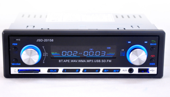 by DHL/Fedex 50pcs Car Radio Uuniversal JSD 20158 Car Stereo Audio In dash FM Receiver  Receiver USB MP3 MMC WMA Radio-in Car Radios from Automobiles & Motorcycles    1