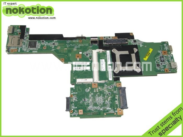 NOKOTION For Lenovo T420 Laptop Motherboard 04W2045 Intel QM67 DDR3 Mainboard Mother Borads Full test Free Shipping for acer mcp61pm am motherboard mainboard 1 0 version full test free shipping