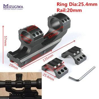 MIZUGIWA support de portée robuste 25.4mm 1
