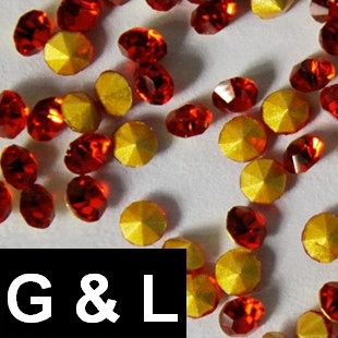 Ss11.5-ss25 Light Siam Color Pointback Rhinestones Glass Material Beads Used For Jewelry Nail Art Decoration ss11 5 ss25 siam color pointback rhinestones glass material beads used for jewelry nail art decoration