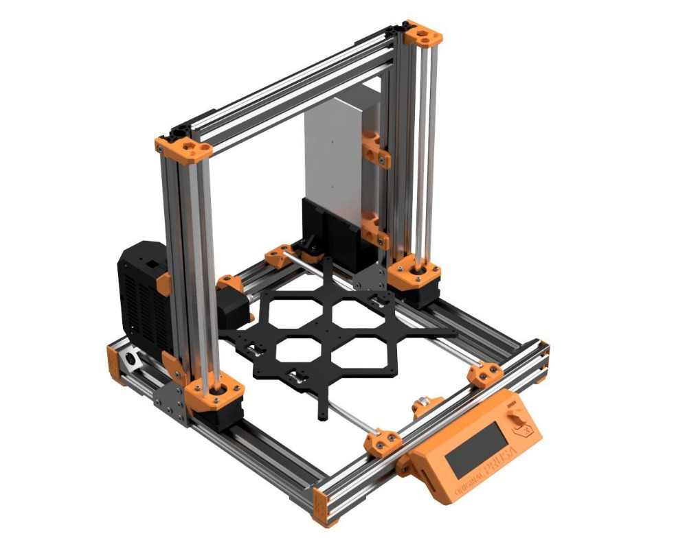 Image 5 - Prusa i3 MK3 Bear Upgrade,2040 V SLOT aluminum extrusions Prusa i3 MK3 Bear Aluminum profile frame kit-in 3D Printer Parts & Accessories from Computer & Office