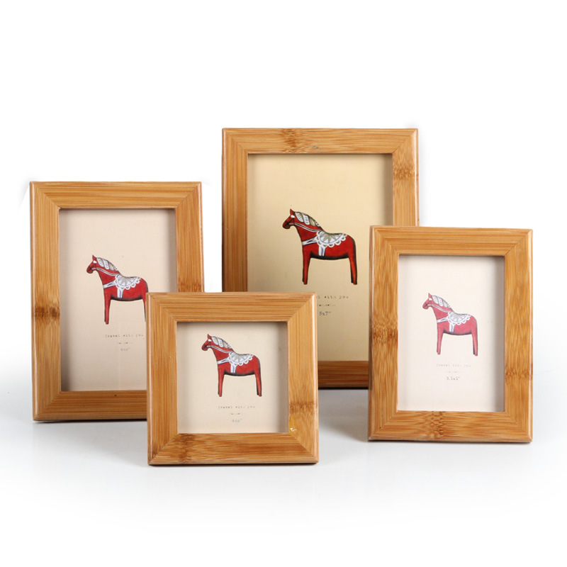 japan style home decor photo frame wooden new design creative picture frames home decoration high quality