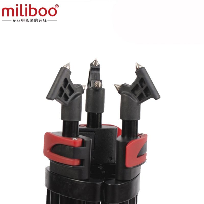 miliboo MTT603A aluminium bärbar kamera stativ för professionell - Kamera och foto - Foto 4