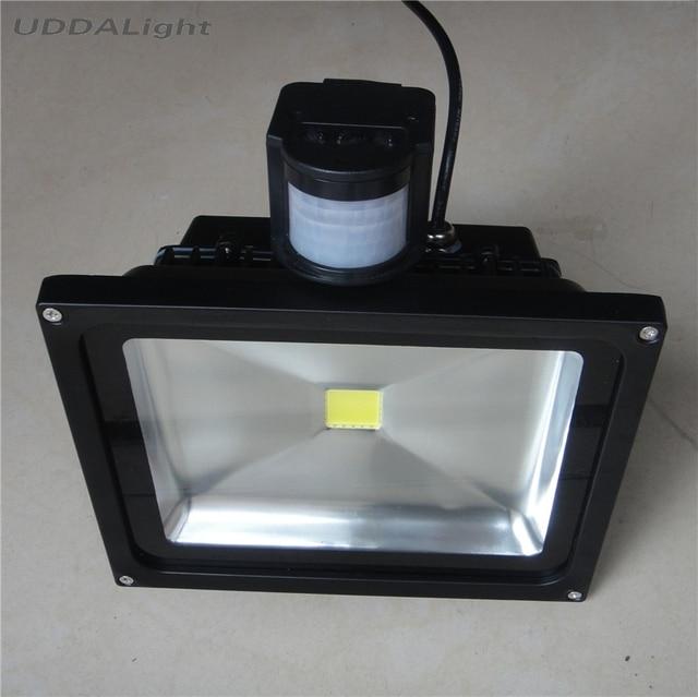 Light Sensor Outdoor 10w 20w 30w Led 50w Motion Foco Exterior
