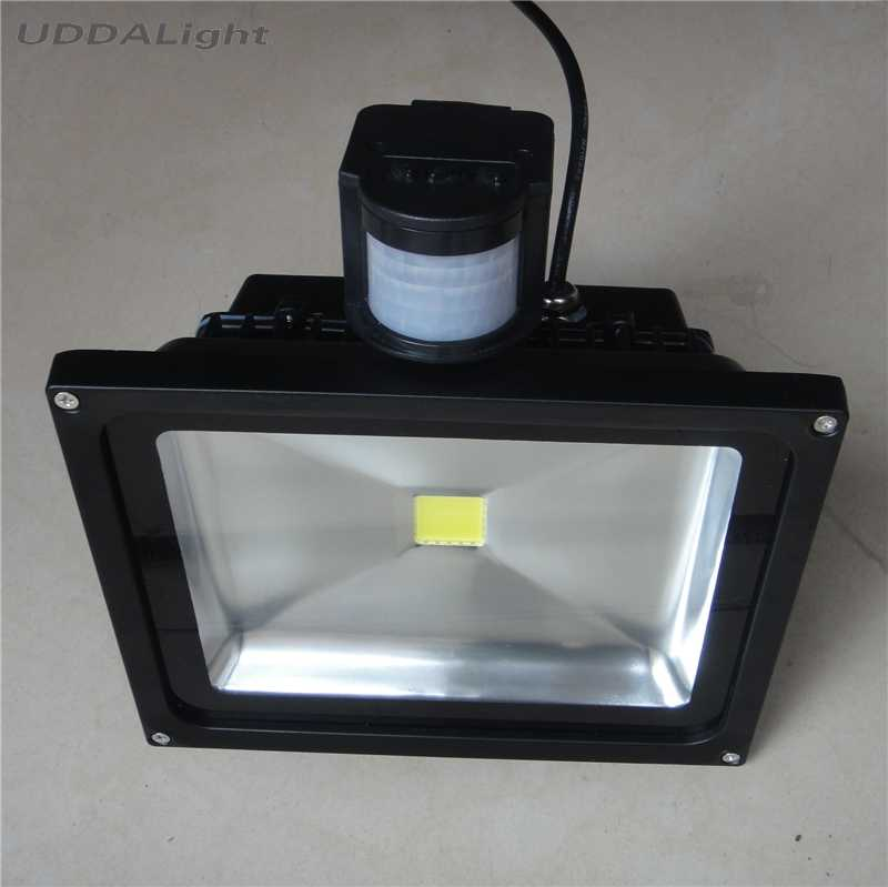light sensor outdoor 10W 20W 30W outdoor led light 50W motion sensor light outdoor foco led exterior