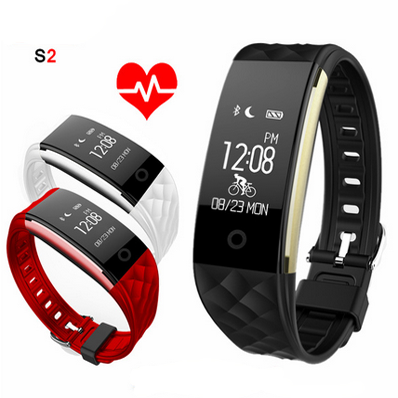 Jakcom Smart Band Wristband Bracelet Heart Rate Monitor Pedometer IP67 Waterproof S2 Smart Bracelet For Android