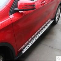 Car Running Board Side Step Pedal Nerf Bar For Mercedes Benz GLA 200 220 260 GLA200 GLA220 GLA260 2014 2015 2016 2017