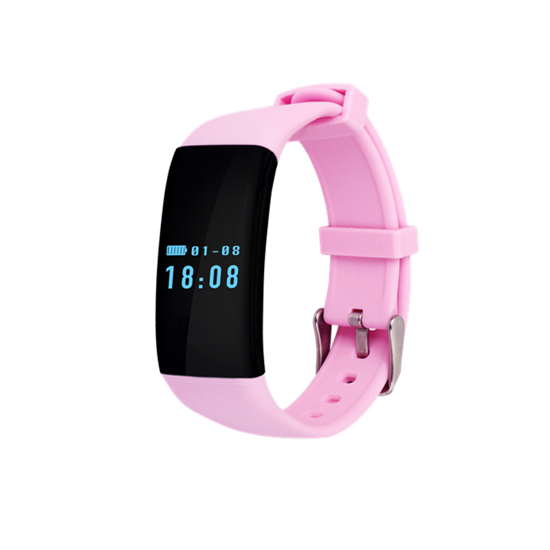 Heart Rate Waterproof Smart Wristband Bracelet DFit D21 Fitness Tracker Swim Band Sport Smart Watch Pulsometer For Android IOS