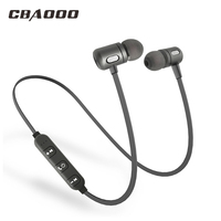 2pcs Lot C10 Sport Bluetooth Earphone Wireless Earphone Bluetooth Hifi Stereo Music Headset With Microphone For