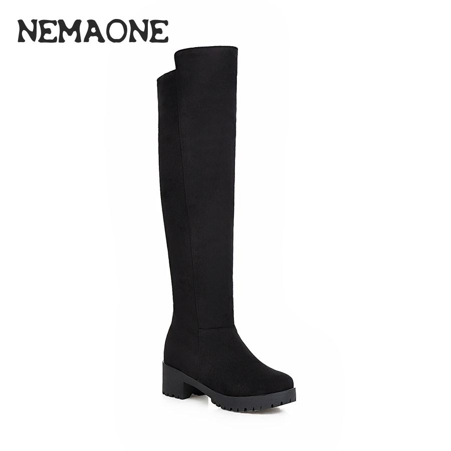 Compare Prices on Suede Knee High Boots Size 12- Online Shopping ...
