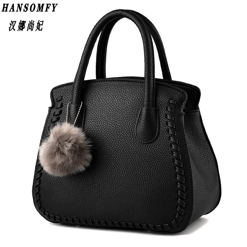 100% Genuine leather Women handbags 2018 New package female Korean fashion style female air bag Messenger shoulder handbag new female 100
