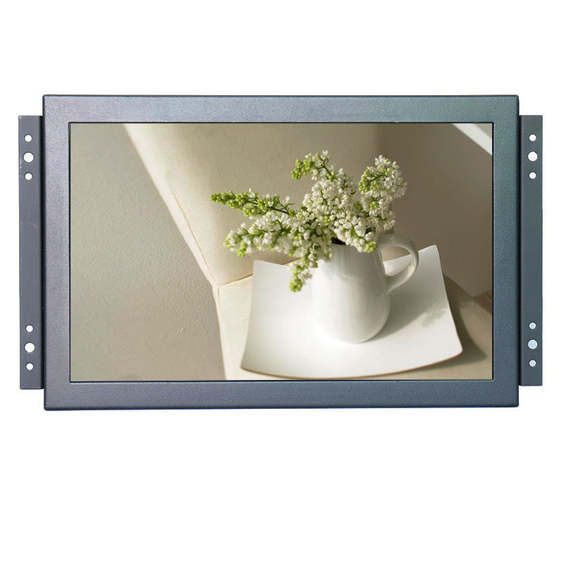 Industrial monitor 10 inch 1920*1200 16:10 wide lcd monitor with AV/BNC/VGA/HDMI/USB interface, with speakers