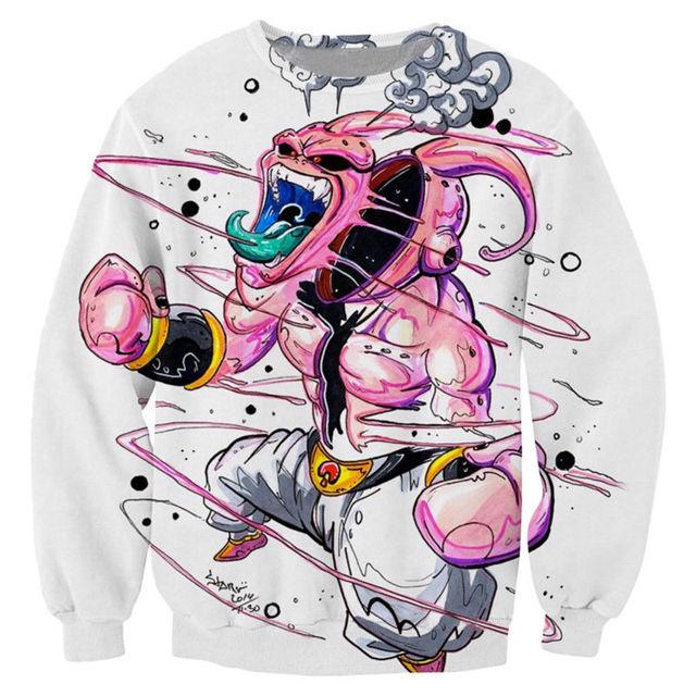 Dragon Ball Z Print 3D Sweatshirt Hoodie