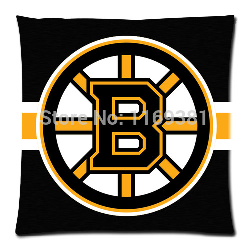"Free Shipping for 35""x35"" Boston Bruins Custom Pillowcase, pillow Throw Cover Case (one side) PC35-22"