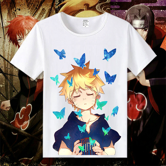 Naruto Characters Top Shirt
