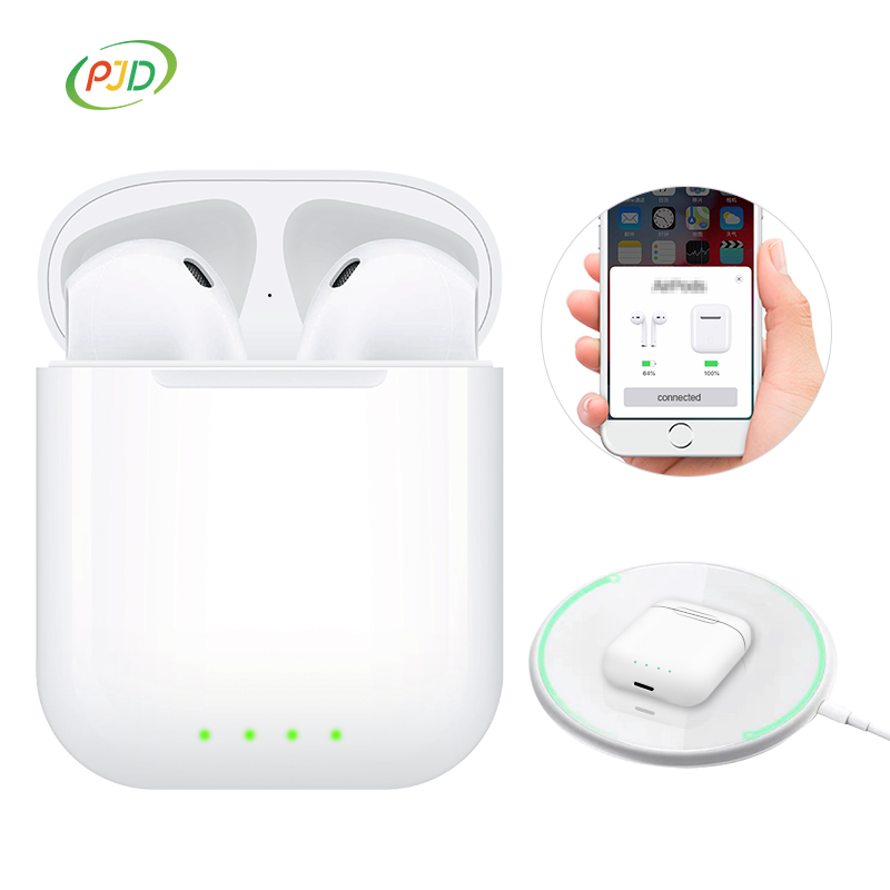 i20 TWS Pop up 1:1 Mini Wireless Earphone QI Wireless Charging Bluetooth 5.0 Earphones Super Bass Earbuds PK i60 i30 lk-te9(China)