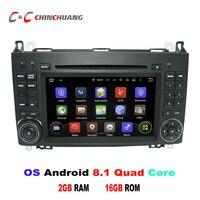Android 8,1 dvd плеер автомобиля gps для Mercedes Benz класс W169 A160 A170 A180 Mercedes Benz b класса W245 B150 B160 B170with радио