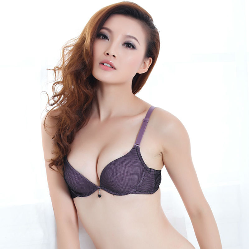 965271b812 Free shipping Size A B -CUP 32 34 36 4 colors push up bra the brassiere the underwear  lace bra sexy women s bras