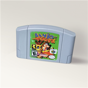 Banjo - Tooie Banjo-Tooie Game Cartridge For 64 Bit Video Game Console USA Version NTSC Card